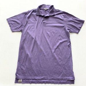 Peter Millar Golf Shirt Polo Short Sleeve Mens L